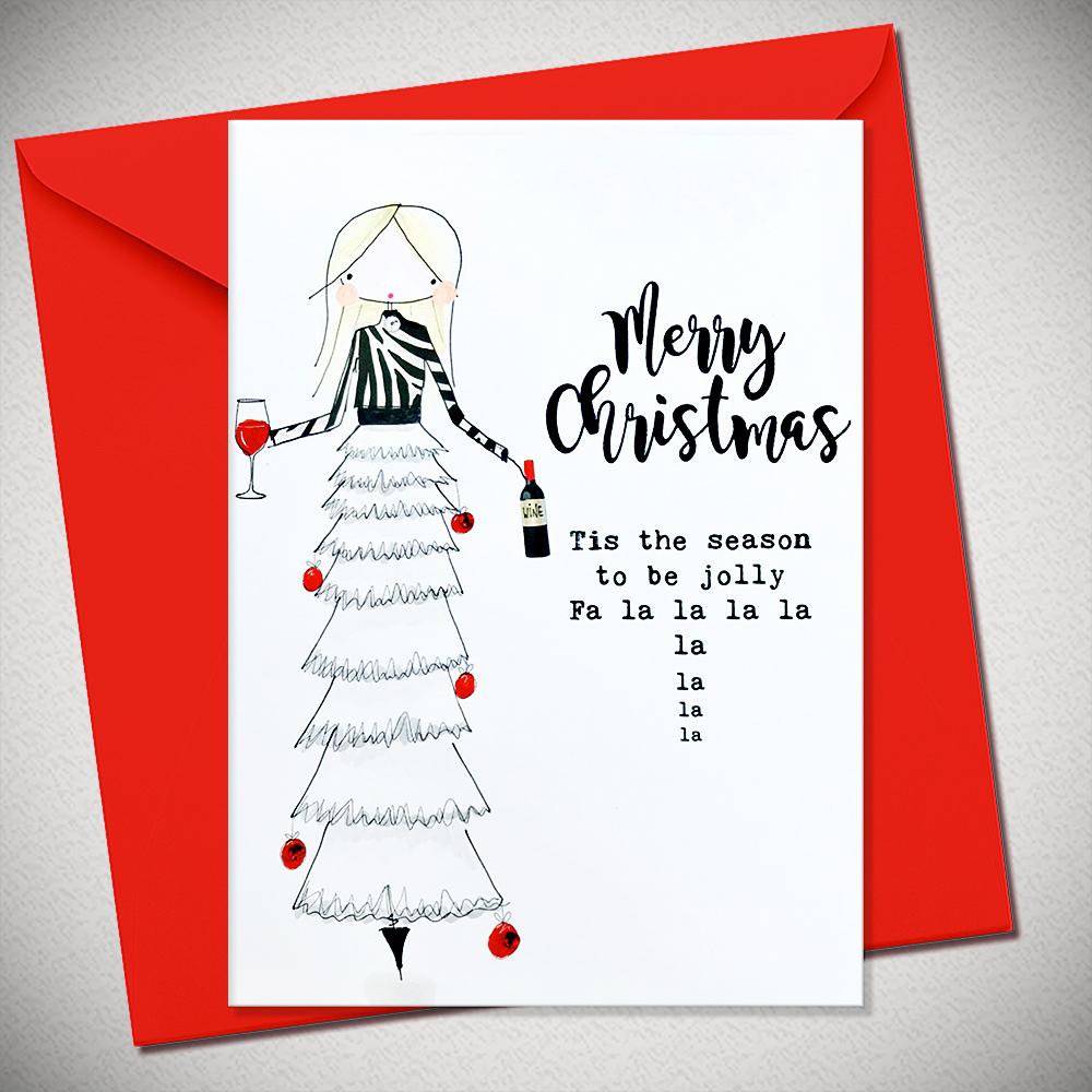 MERRY CHRISTMAS - Tis the season to be jolly - Bexy Boo Bexy Boo